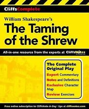 William Shakespeare's Taming of the Shrew CliffsNotes, Complete Play, Review, pb