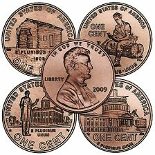 2009 P and D Lincoln Commemorative Cents - BU (eight coins)