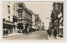 Devon postcard - High Street, Exeter - RP