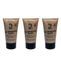 3pz RENEE BLANCHE Gel Definizione Barba 125ml NUOVI prodotti rasatura beard