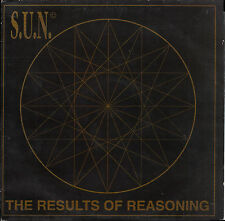 """S.U.N. - THE RESULTS OF REASONING 12"""" Flat Records OUT TS006 Techno, Tech House"""