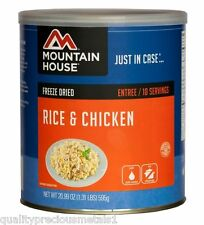 1 - Can - Rice & Chicken - Mountain House Freeze Dried Emergency Food Supply