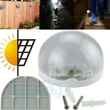 Outdoor Garden Solar Power Powered Light Gutter Fence Yard LED Lamp Wall Roof US