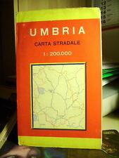UMBRIA  Carta Stradale.   Cod. 653        Scala  1 : 200.000