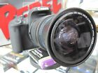 CPL Ultra Wide Angle Macro Fisheye Lens for Canon Eos Digital Rebel SL1 T5i XTi