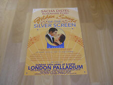GOLDEN SONGS of SILVER SCREEN Sacha DISTEL London PALLADIUM Theatre Poster
