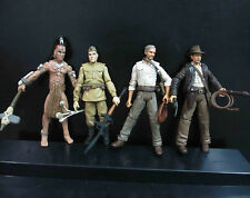 lot of 4 Indiana Jones  Warrior  Russian Soldiers Action Figures #fs4