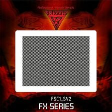 Airbrush stencil template FISH SCALES SKIN FSC1 SV2 SPECIAL VERSION small scales