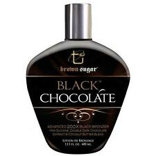 Tan Incorporated Black Chocolate Dark Sugar 200x  Bronzer Tanning Lotion - 400ml
