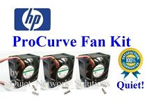 Quiet HP ProCurve 2810-48G Fan Kit, (J9022A) 18dBA Best for Home Networking!