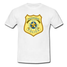 The Zootopia Police Department ZPD Logo T-shirt USA Size