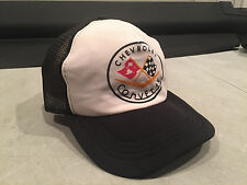 VINTAGE CORVETTE TRUCKERS MESH SNAP BACK HAT CAP Rad MADE IN USA