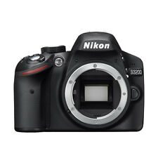 Nikon D3200 Digital SLR Camera Body 24.2 MP Black BRAND NEW