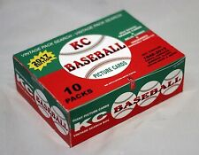 2017 vintage PACK SEARCH 90+ UNOPENED BASEBALL CARDS kadence cards WAX