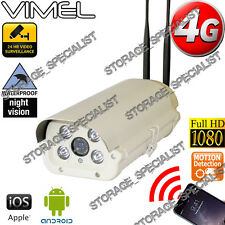 Wireless Security Camera 4G GSM  Alarm Remote View CCTV Outdoor Phone 3G