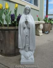 "24"" OUR LADY OF FATIMA STATUE Indoor Outdoor Mary Garden Decor INDESTRUCTIBLE"