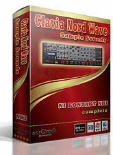 Clavia Nord Wave analog synth Sample Sounds Kontakt Instrument NKI - norCtrack