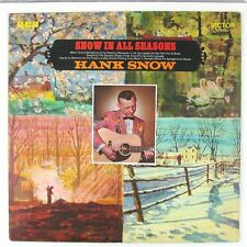 HANK SNOW Snow In All Seasons LP (PROMO) NM- NM-