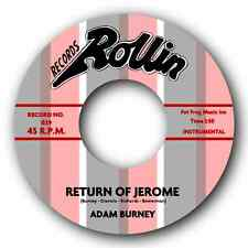 "ADAM BURNEY -""RETURN OF JEROME"" BOPTASTIC BLUES BOPPER! WATCH THE VIDEO."
