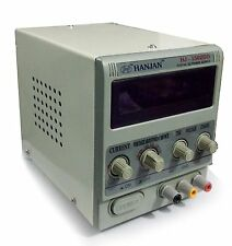 New HANJAN Laboratory Basic DC Power Supply For Only Mobile 1502DD 0 - 2A 0 - 1