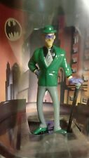 WARNER Store The RIDDLER Miniature STATUE Figure 1999 BATMAN Animated bust TOY