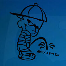 Pisse dessus AMG-jdm drôle car-bumper / fenêtre-Vinyle Autocollant / decal-j159