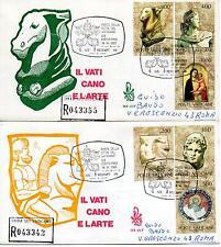 Vaticano 1983 FDC Venetia Club Collez. Vaticane d'Arte negli U.S.A. Racc (2° sc)