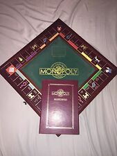 1991 FRANKLIN MINT COLLECTORS EDITION MONOPOLY WOOD GAME BOARD