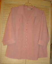 3X Covington Woman Womens Plus 3X Top 22/24 Womens 3X Top 22/24 Blouse 3X