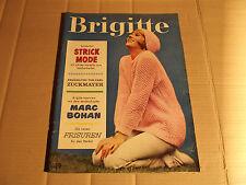 BRIGITTE - 19 - 05.09.1961 - STRICK-MODE- MARC BOHAN - NEUE FRISUREN - WOHNEN
