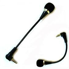 Mini 3.5mm Jack Flexible Audio Microphone Mic For PC Laptop Notebook Skype Yahoo