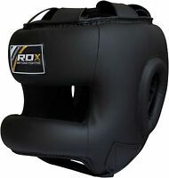 RDX Training Head Guard Helmet Boxing MMA Martial Art Kick Gear Face Protector U