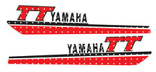 YAMAHA WICKED TOUGH 1980 TT250 FUEL GAS TANK DECALS LIKE NOS