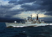 HMS EXETER - HAND FINISHED, LIMITED EDITION (25)