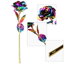 Multi-Color Plated Rose Romantic Valentine's Day Lover/Mother/Friend Best Gift