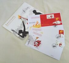 CHINA 2008-6 Beijing 2008 Olympic Torch Relay stamp + S/S FDC