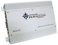 Pyramid 4 Ch Four Channel 2000w White Bridgeable Car Speaker Amplifier Amp