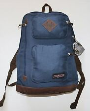 "New Jansport Austin Backpack Rucksack School Hiking 15"" Laptop Sleeve Blue"