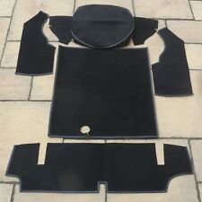 MG MIDGET 1500 NEW BLACK BOOT CARPET SET