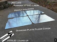 Polaris Ranger XP900 Crew Diamond Plate Floor cover 2013 and up