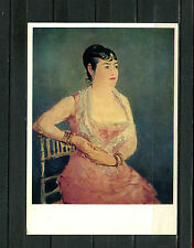 Edouard Manet - Dame in Rosa, Madame Marlin   (AK16)