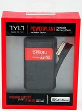 NEW Tylt Powerplant 30-Pin Battery Charger Apple iPhone 4/4s iPod iPad/4/3/2/1