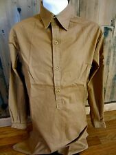 WWII GERMAN WAFFEN SOLDAT ENLISTED NCO BROWN SERVICE SHIRT-SIZE SMALL