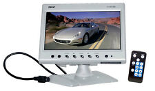 "Pyle 7"" LCD Headrest Monitor With Headrest Shroud And Universal Stand PLHR78W"