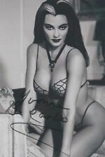 "Yvonne De Carlo (Deceased) The Munsters ""Lily"" RARE SEXY SEE THRU SIGNED RP 8x10"