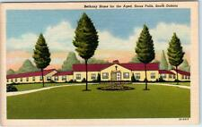SIOUX FALLS, South Dakota  SD   BETHANY HOME for the AGED  c1940s Linen Postcard