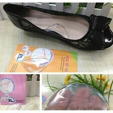 Girls Silicone Womens Shoes Inserts Insole Foot Arch Cushion Pad new au