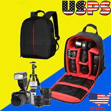 Universal Camera DSLR Bag Waterproof Backpack Video Photo Bags For D3200 D7100