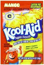 Kool-Aid Aguas Frescas Mango Unsweetened Drink Mix, 0.14-Oz Packets (Pack of 96)