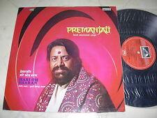 PREMANJALI Hindi Devotional Songs HARI OM SHARAN *ORIGINAL INDIA EMI LP 1977*